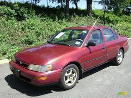 1996 Sunfire Red Pearl Toyota Corolla 1.6 #35427636 Photo #4 ...