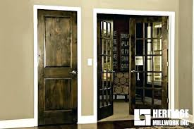 staining interior doors stained doors with painted trim outstanding stained interior door images also doors with staining interior doors