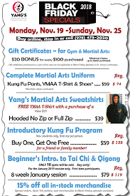 black friday specials for yang s fitness center here