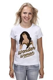 Футболка классическая <b>Чудо</b>-<b>Женщина</b> (<b>Wonder</b> Woman) #1619030