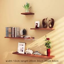 pictures show modern white decorative wooden wall shelves