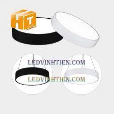 Đèn led thả văn phòng hình tròn giá rẻ, loại tốt. Ledvinhtien.com