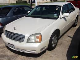 2002 White Diamond Pearl Cadillac DeVille Sedan #36347794 ...