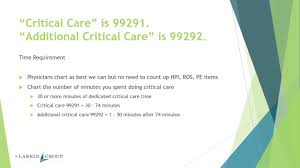 Critical Care Time Chart Er Coding 101 Levels Of Care Youtube