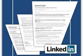 linkedin resume search