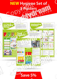 Food Hygiene Poster Food Hygiene Posters Set Of 5 Daydream Education