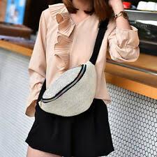 <b>Belt Bag</b> Pouch <b>Straw</b> Bags & Handbags for <b>Women</b> | eBay