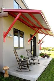 farmhouse front porches porch awning