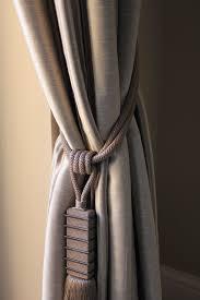 Designer Curtain Tie Backs Customers Landing Curtains Beautifully Tied Back Curtain