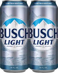 Busch Light Limited Edition Cans Busch Light Beer 4 Pack 16 Fl Oz Walmart Com