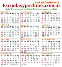 Calendarios Para Imprimir 2015 Feriados 2015 Argentina Almanaque Para Imprimir