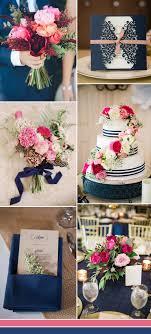 blue weddings stylish wedd blog Wedding Colors Navy And Pink navy blue and pink wedding color ideas for 2017 wedding colors navy blue and pink