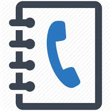 Business Phone Book Business Contacts Office Supplies Phone Book Icon
