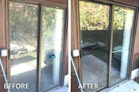 replacing sliding windows sliding patio door repair full size of patio sliding glass door lovely repair