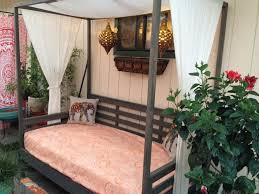 Ana White | Outdoor Daybed with Canopy - DIY Projects