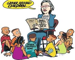 Children Education Cartoons Christian Right Active Voice