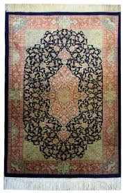 magnificent persian silk rug pure qum silk rugs
