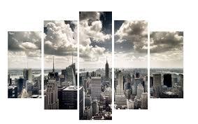 new york city skyline window view art printicanvas icanvas in best and newest new york city on new york city skyline canvas wall art with gallery of new york city canvas wall art view 2 of 15 photos