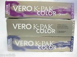 Details About Joico Vero K Pak Color Permanent Hair Color N Series 2 5 Oz Nib Blue Box