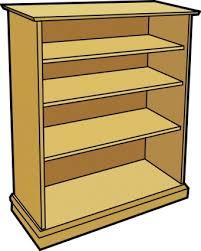 Shelf Of Books Clip Art