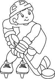 Small Picture Hockey coloring pages for kids ColoringStar