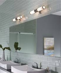 above mirror bathroom lighting. Chrome \u0026 Glass IP44 Wall Light Width 489mm Above Mirror Bathroom Lighting U
