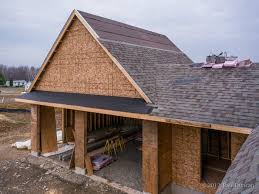 houlihanlawrence this brow roof on the gable end of a garage helps protect the garage doors image credit image 12 paul duncan
