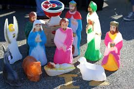 outdoor nativity sets clearance