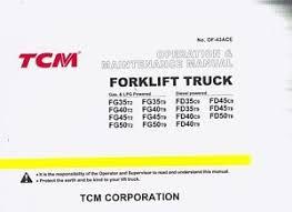 hyster forklift manuals on popscreen TCM Fork Lift Parts Manual tcm forklift maintenance manual fg35t2 fd35c9 fg40t2