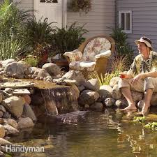 pond how to build a low maintenance pond family handyman