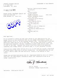 Letter From The Irs Granting Us 501c3 Confirm Vawebs