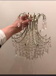 laura ashley ceiling light fitting chandelier champagne gold