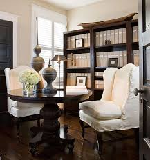 home office jarrett construction. A Small Bedroom Into Home Office. Drexel Heritage Round Table Doubles As Office Jarrett Construction