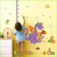 Purple Dinosaur Dragon Height Chart