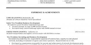 Logistics Professional Resume Transport And Logistics Manager Sample ...