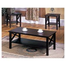 coffee table contemporary 3 piece sets under 200 within ideas 14