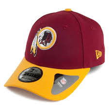 9forty New Rouge-jaune Washington The Casquette League Era Redskins