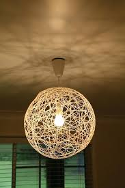 string pendant light lamp lighting and ceiling fans how to make a shade string pendant light