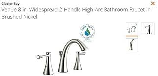 what is the best bathroom faucet brand best bathroom faucets brands inspirational glacier bay venue 8