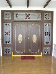 Mandir Designs Living Room Pooja Mandir Door Designs For Home Wooden Carved Pooja Room Door