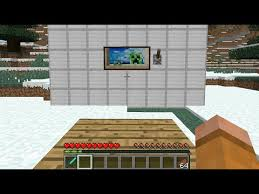 how to make a tv in minecraft. Make A Tv In Minecraft How To Sign