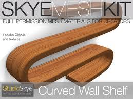 Skye MESH Kit - Curved Wall Shelf PROMO PRICE