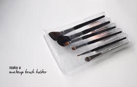 makeup brush travel case. diy tutorial - pvc makeup brush holder travel case