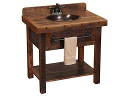 Rustic pine bathroom vanities Weathered Awesome Rustic Bathroom Vanities Sink Cabinet And 4trackco Awesome Rustic Bathroom Vanities Sink Cabinet And Rustic Bathroom