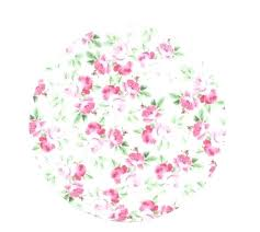 Pink Flower Paper Plates Mint Paper Plates 8 Floral Tea Party Vintage Style Shabby Chic