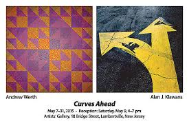 Curves Ahead | Artists' Gallery, Lambertville, NJ