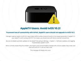 airplay apple tv not working