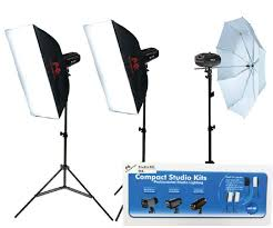 <b>Falcon Eyes</b> Studio Flash Set SSK-3200D with Bag with Trigger set ...