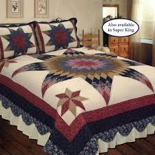 Prairie Star Patchwork Quilt Bedding &  Adamdwight.com