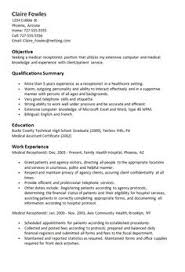 1000+ ideas about Medical Receptionist on Pinterest | Medical ... Sample Resume Medical Receptionist - http://resumesdesign.com/sample-resume